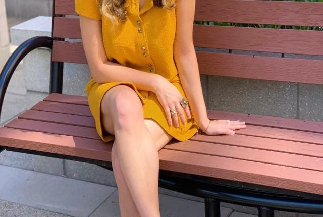 Mellow Yellow on this RainyDay.