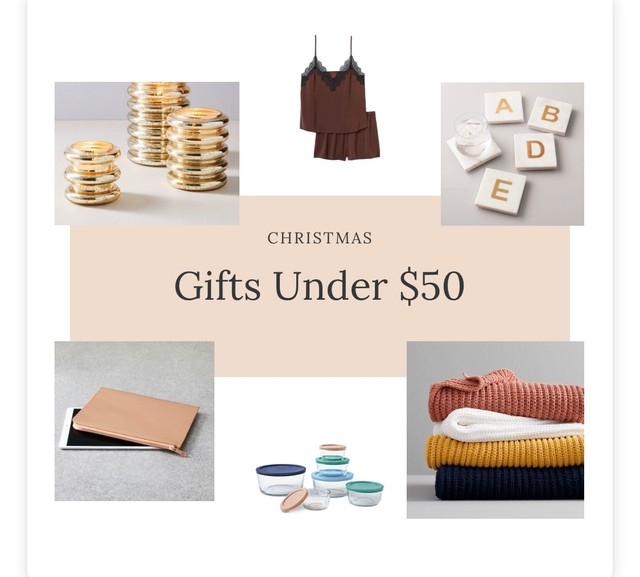 Blog Post - Gifts Under $50