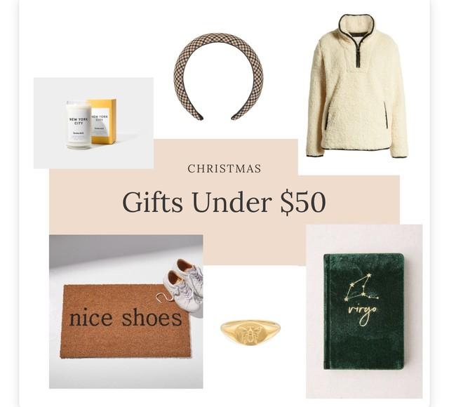Gifts Under $50 - Blog Post 2