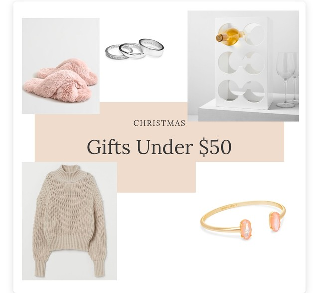 Gifts Under $50 - Blog post 3